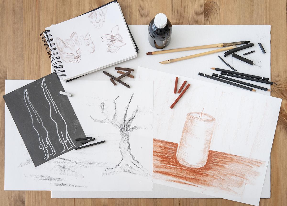 LERNERiA - Grafische Arbeiten aus dem Kunst-Workshop